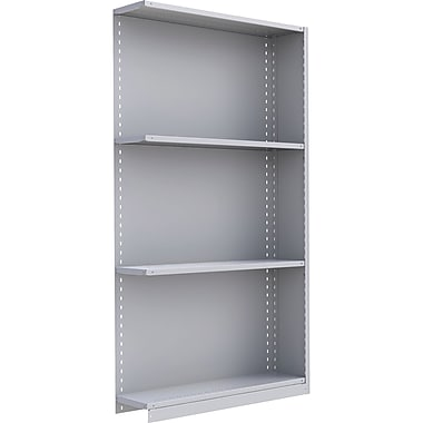 Metalware RK294 Boltless Shelving Unit, 4-Shelves, 48