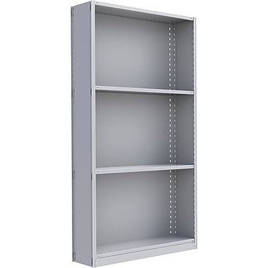 Metalware RK295 Boltless Shelving Unit, 4-Shelves, 48