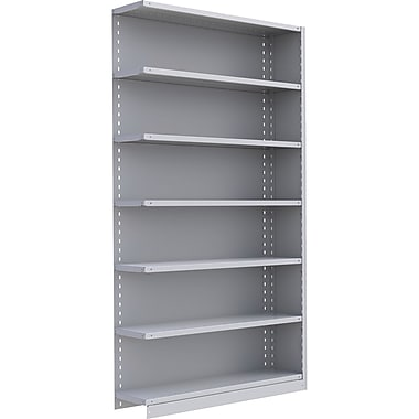 Metalware RK304 Boltless Shelving Unit, 7-Shelves, 48