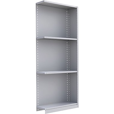 Metalware RK314 Boltless Shelving Unit, 4-Shelves, 36