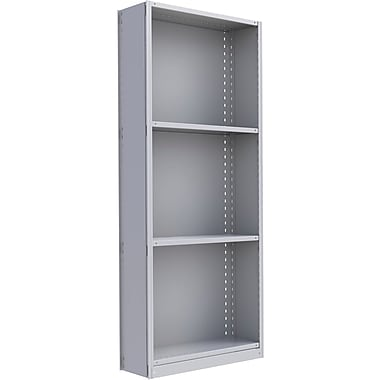 Metalware RK319 Boltless Shelving Unit, 4-Shelves, 36
