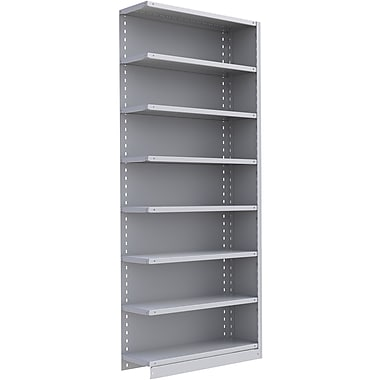 Metalware RK328 Boltless Shelving Unit, 8-Shelves, 36