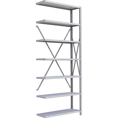 Metalware RK332 Boltless Shelving Unit, 7-Shelves, 36