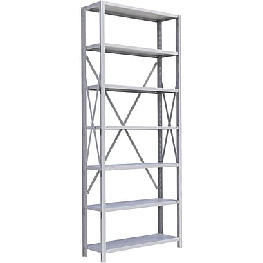 Metalware RK337 Boltless Shelving Unit, 7-Shelves, 36