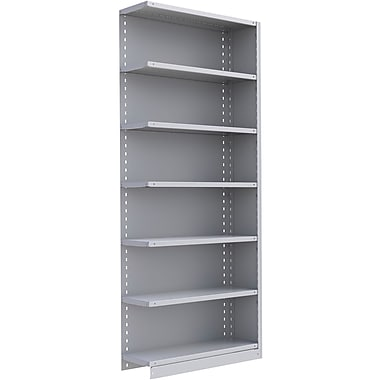 Metalware RK340 Boltless Shelving Unit, 7-Shelves, 36