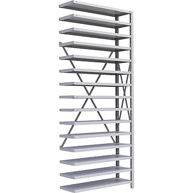 Metalware RK346 Boltless Shelving Unit, 15-Shelves, 36