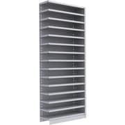"""Metalware RK354 Boltless Shelving Unit, 15-Shelves, 36"""" x 24"""" x 88"""", Light Grey"""