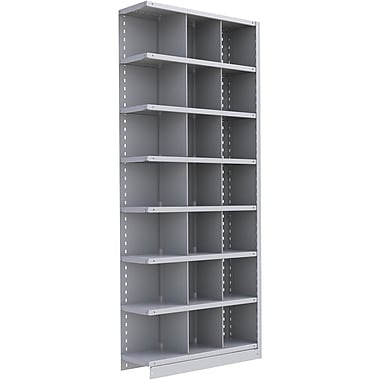 Metalware RK372 Boltless Shelving Unit, 8-Shelves, 36