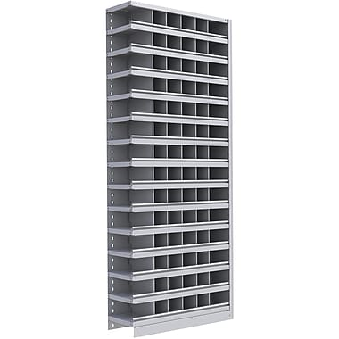 Metalware RK382 Boltless Shelving Unit, 15-Shelves, 36