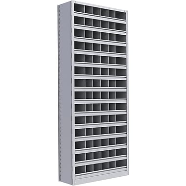 Metalware RK385 Boltless Shelving Unit, 15-Shelves, 36