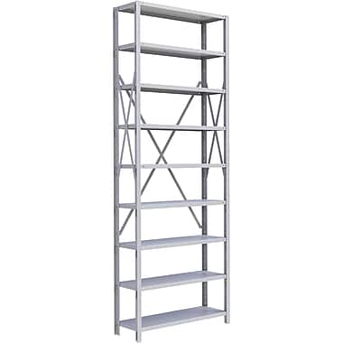 Metalware RK405 Boltless Shelving Unit, 9-Shelves, 36