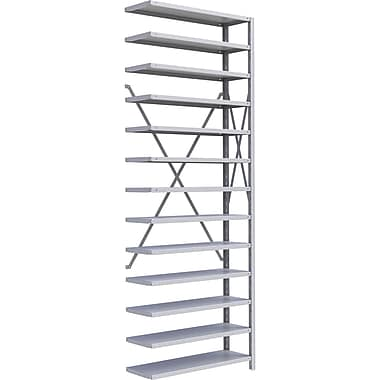 Metalware RK414 Boltless Shelving Unit, 13-Shelves, 36