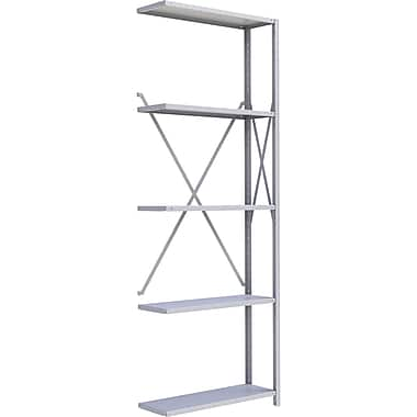 Metalware RK428 Boltless Shelving Unit, 5-Shelves, 36
