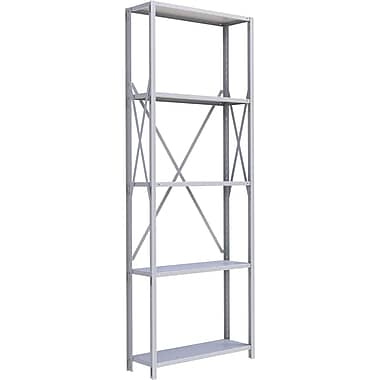 Metalware RK429 Boltless Shelving Unit, 5-Shelves, 36