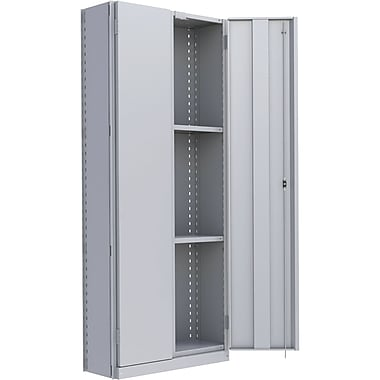 Metalware RK895 Boltless Shelving Unit, 4-Shelves, 36