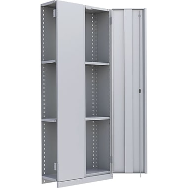 Metalware RK898 Boltless Shelving Unit, 4-Shelves, 36