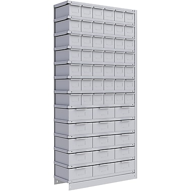 Metalware RK987 Boltless Shelving Unit, 13-Shelves, 36