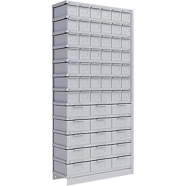 Metalware RK891 Boltless Shelving Unit, 13-Shelves, 36
