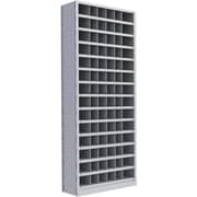 "Metalware RK906 Boltless Shelving Unit, 15-Shelves, 36"" x 18"" x 88"", Light Grey"