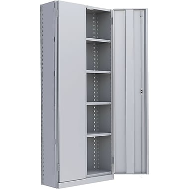 Metalware RK912 Boltless Shelving Unit, 6-Shelves, 36