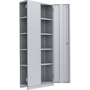 Metalware RK915 Boltless Shelving Unit, 6-Shelves, 36