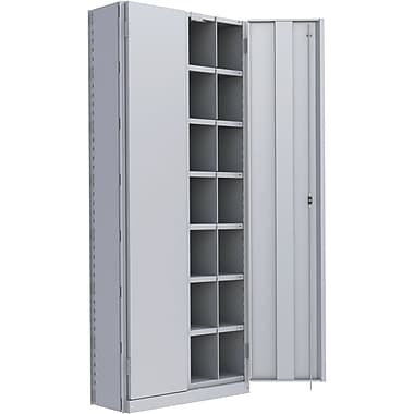 Metalware RK921 Boltless Shelving Unit, 8-Shelves, 36