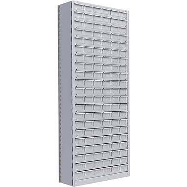 Metalware RK931 Boltless Shelving Unit, 22-Shelves, 36