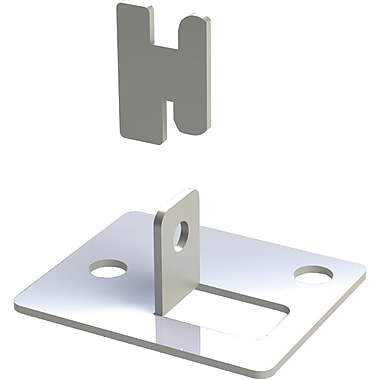 Metalware Boltless Shelving Unit Foot plate