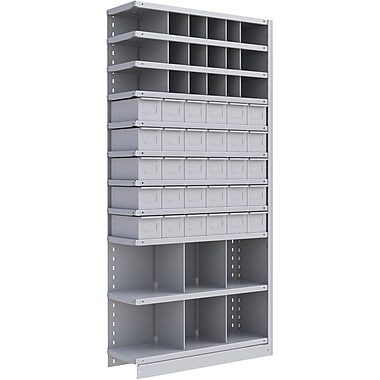 Metalware RK969 Boltless Shelving Unit, 11-Shelves, 36