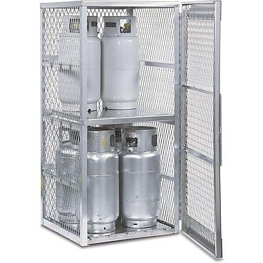 Justrite® Aluminum LPG Cylinder Locker Storage, 30