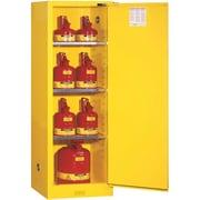 JustriteMD – Armoire de sécurité compacte Sure-GripMD, 1 porte à fermeture automatique, 23 x 18 x 65 (po)