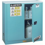 Justrite® Sure-grip® Ex Acid/corrosive Storage Cabinets Accessories, Poly Tray for 22-Gallon Undercounter Cabinets