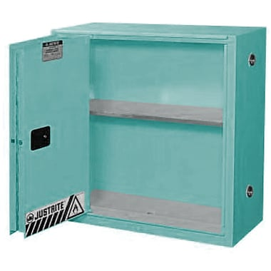Justrite® Sure-Grip® Ex Acid/Corrosive Storage Cabinets, Sliding Door, Self-Closing, 43