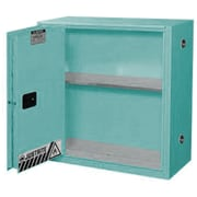 "Justrite® Sure-Grip® Ex Acid/Corrosive Storage Cabinets, Sliding Door, Self-Closing, 43"" x 18"" x 65"""