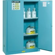 Justrite® Sure-grip® Ex Acid/corrosive Storage Cabinets Accessories, Poly Tray for 30 And 45-Gallon Cabinets