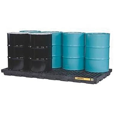 Justrite® EcoPolyBlend™ Accumulation Centers, 8-Drum Unit,