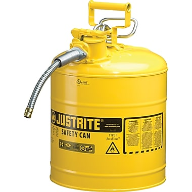 Justrite® Safety Can with 5/8