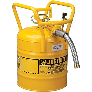 Justrite D.O.T. AccuFlow Safety Cans, 1