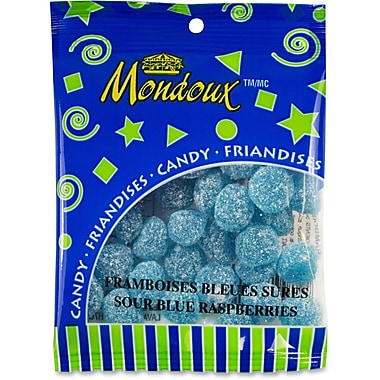 Mondoux Sour Blue Raspberries Candy