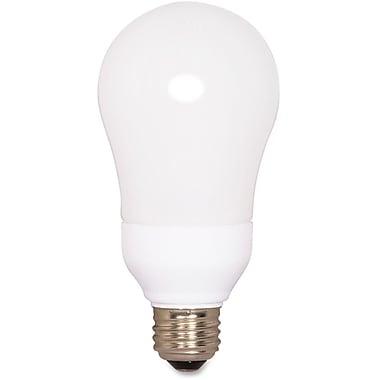 Satco – Ampoule fluocompacte de taille A19, 15 W
