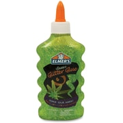 Elmer's Classic Washable Glitter Glue, 177ml, Green