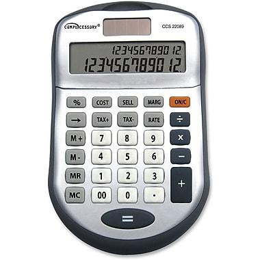 CompucessoryMD – Calculatrice 22089 à 2 lignes et à 12 chiffres