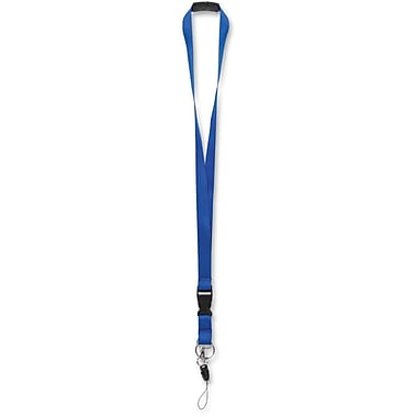 Merangue Safety Break-away Lanyard, Blue