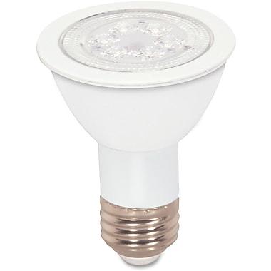 Satco – Ampoule à DEL PAR20 à faisceau large et à intensité réglable de 7 W