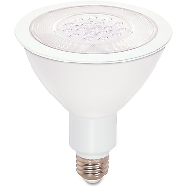 Satco – Ampoule à DEL PAR38 à faisceau large à intensité réglable de 17 W
