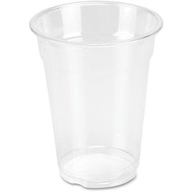 Genuine Joe Clear Plastic Cups, 10 oz., 25/Pack