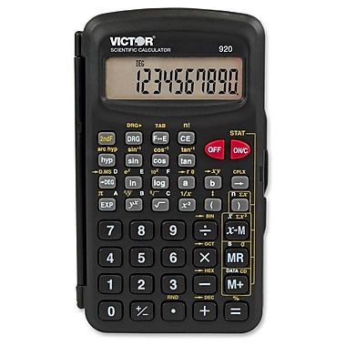 Victor 10-Digit Compact Scientific Calculator