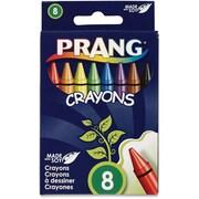 Dixon Prang Soybean Crayons, 8-Assorted Colour Crayons