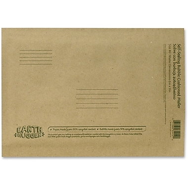 Enveloppes kraft rembourrées à colle Conros, 6 x 9 po