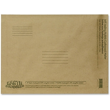 Conros Kraft Bubble Mailers, 8.5